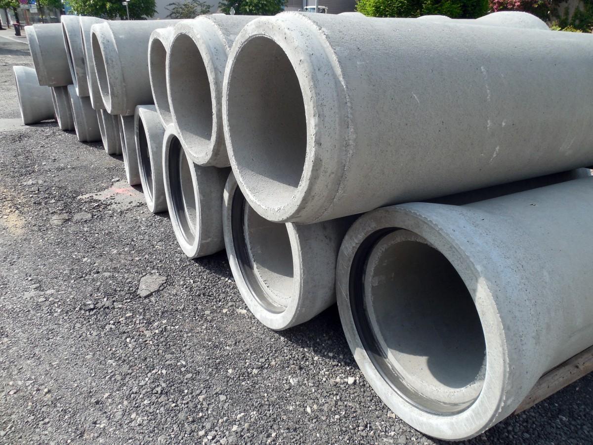Tuyaux en béton / concrete pipes